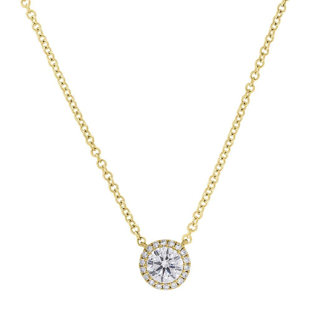 14KT Yellow Gold Diamond Luxe Ava Necklace