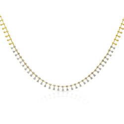 14KT Yellow Gold Diamond Marla Necklace