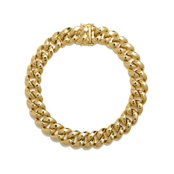 14KT Yellow Gold Luxe Yves Chain Link Bracelet