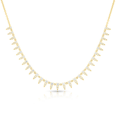 14KT Yellow Gold Diamond Meghan Necklace