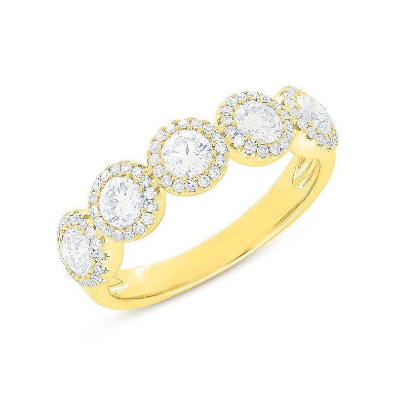 14KT Yellow Gold Diamond Luxe Lexi Ring