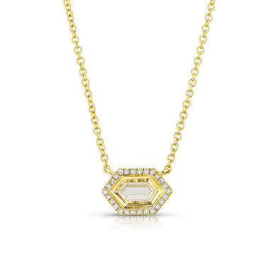 14KT Yellow Gold Diamond Molly Necklace
