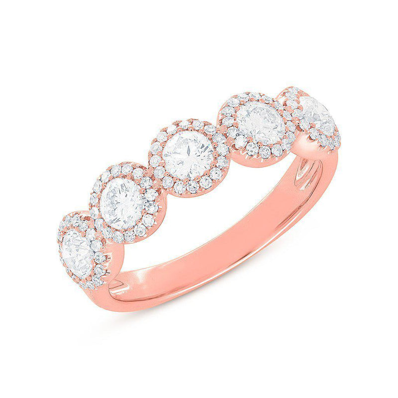 14KT Rose Gold Diamond Luxe Lexi Ring