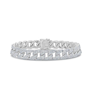 diamond chain bracelet cuban links vs fine jewelry 14KT