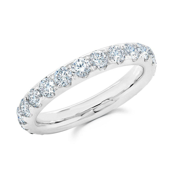 14KT White Gold Luxe Lauren Eternity Diamond Ring