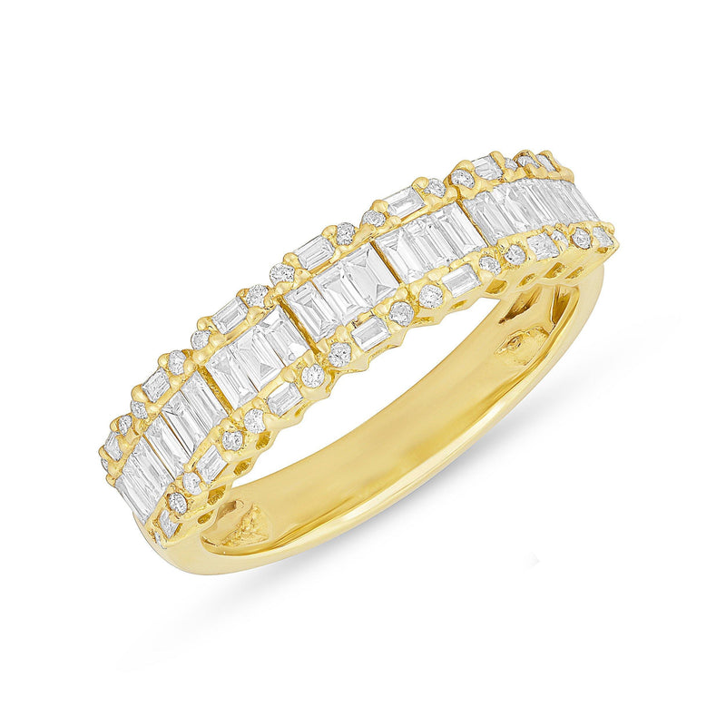 14KT Yellow Gold Baguette Diamond Ysabel Ring