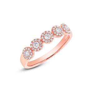 14KT Rose Gold Diamond Lexi Ring