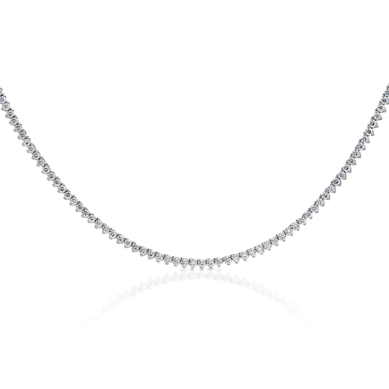 14KT White Gold Diamond Liora Necklace