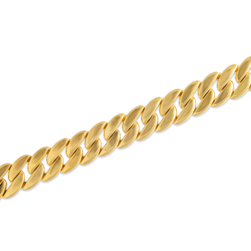 14KT Yellow Gold Luxe Carter Chain Link Bracelet