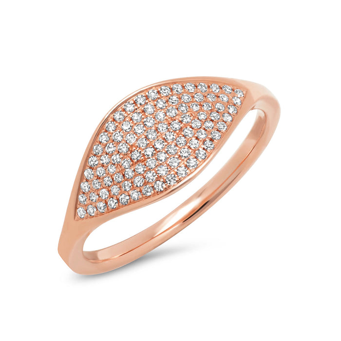 14KT Rose Gold Diamond Alissa Ring