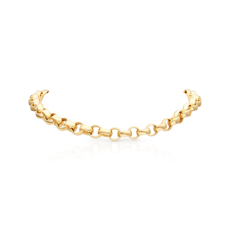 "14KT Yellow Gold Chain Link Delphine 16"" Necklace"