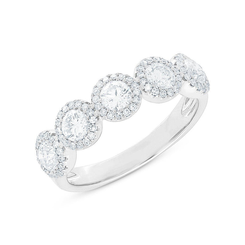 14KT White Gold Diamond Luxe Lexi Ring