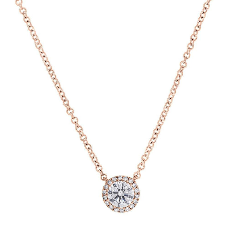 14KT Rose Gold Diamond Luxe Ava Necklace