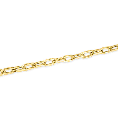 14KT Yellow Gold Chain Link Luxe Lillian Bracelet
