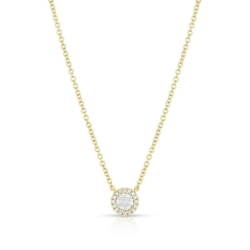 14KT Yellow Gold Diamond Ava Necklace