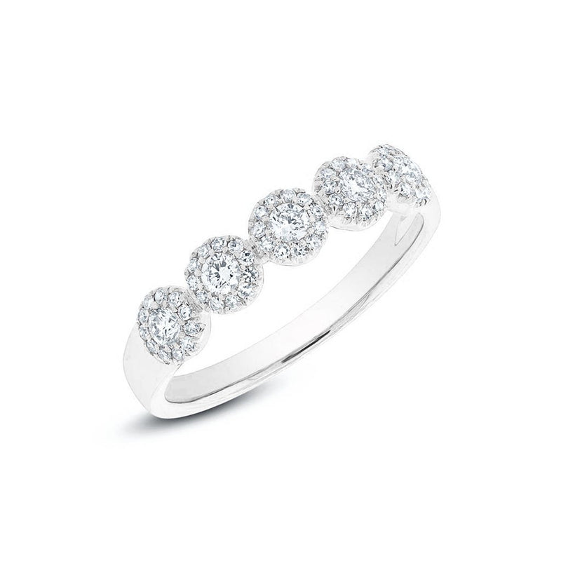 14KT White Gold Diamond Lexi Ring