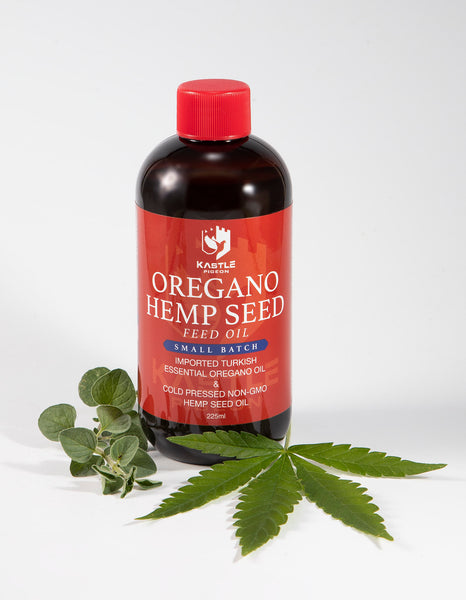 oregano hemp oil pigeons