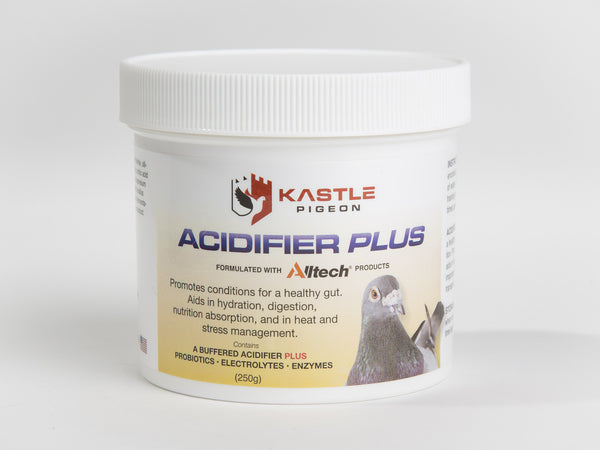 Acidifier Plus Kastle Pigeon Supplement probiotics electrolytes enzymes