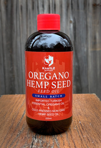 oregano hemp seed oil for pigeons