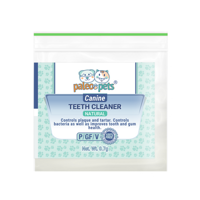 Sample of Natural Toothpowder for Dogs