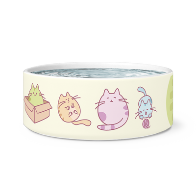 "Cat Bowl ""Funny Cute Cats"""