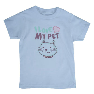 I Love My Pet T-Shirt Cat