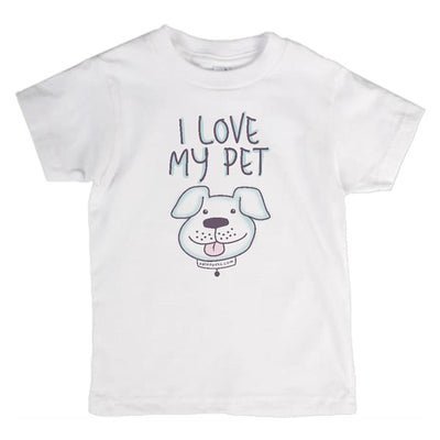 I Love My Pet T-Shirt Dog