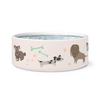 "Dog Bowl ""Love & Fidelity"""