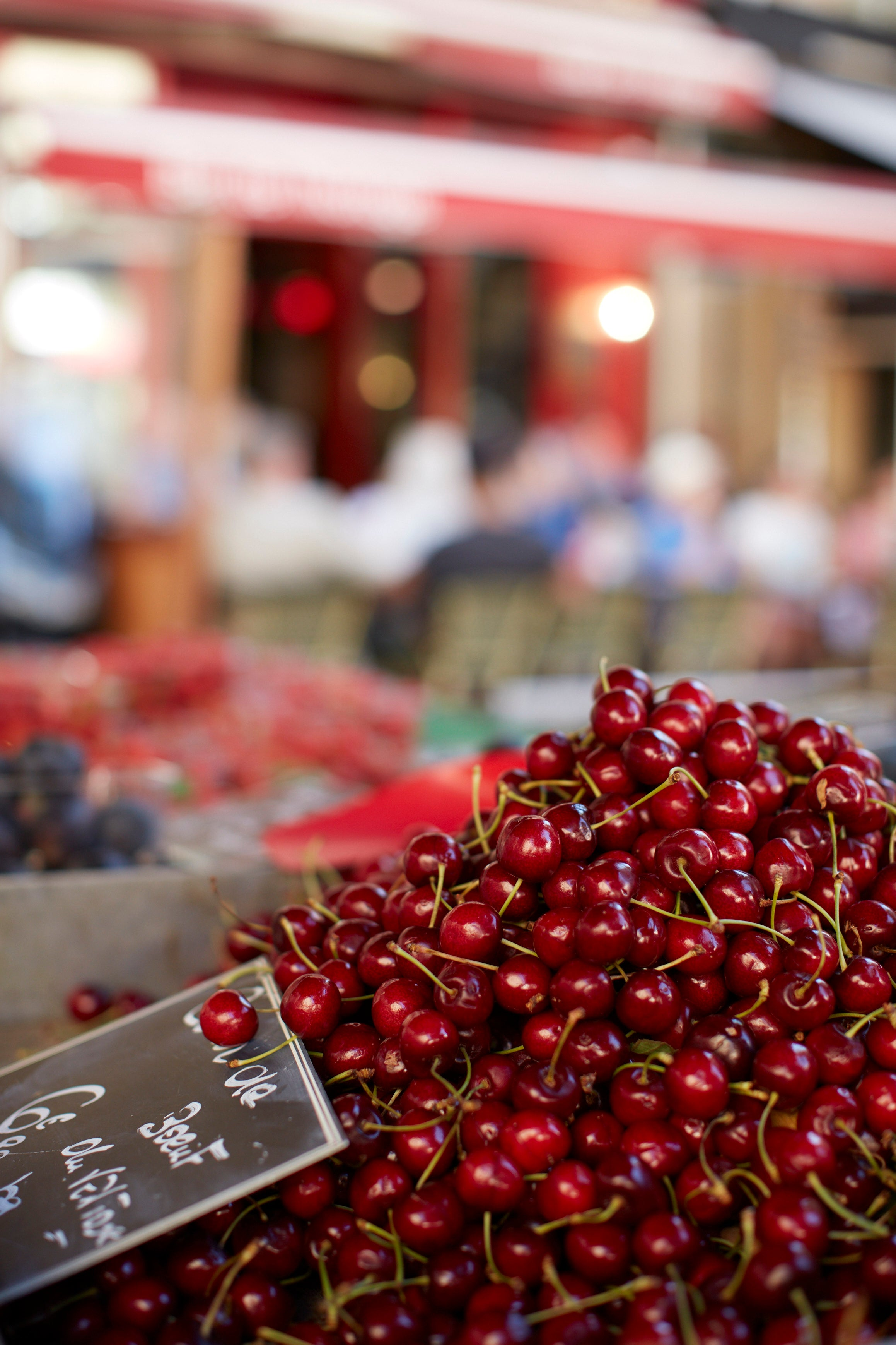 Cherries at a Provencal Market from Bastide