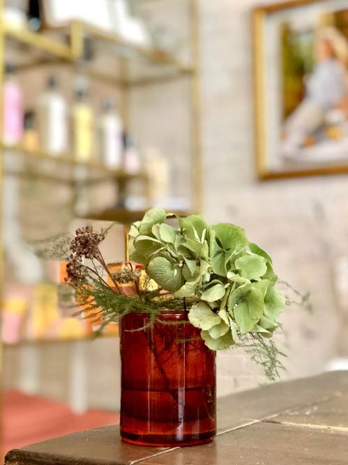 Rue-use your Bastide candle pot as a flower vase
