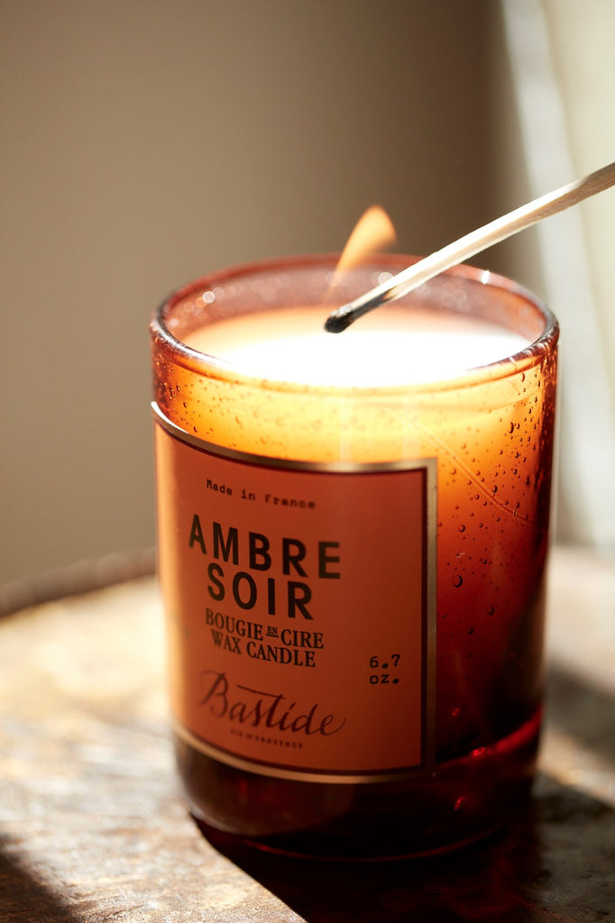 Bastide Ambre Soir Candle - for the ultimate relaxation session