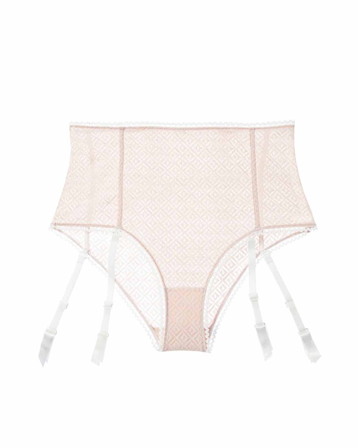 Betty High Waisted Brief w/ Removable Garters