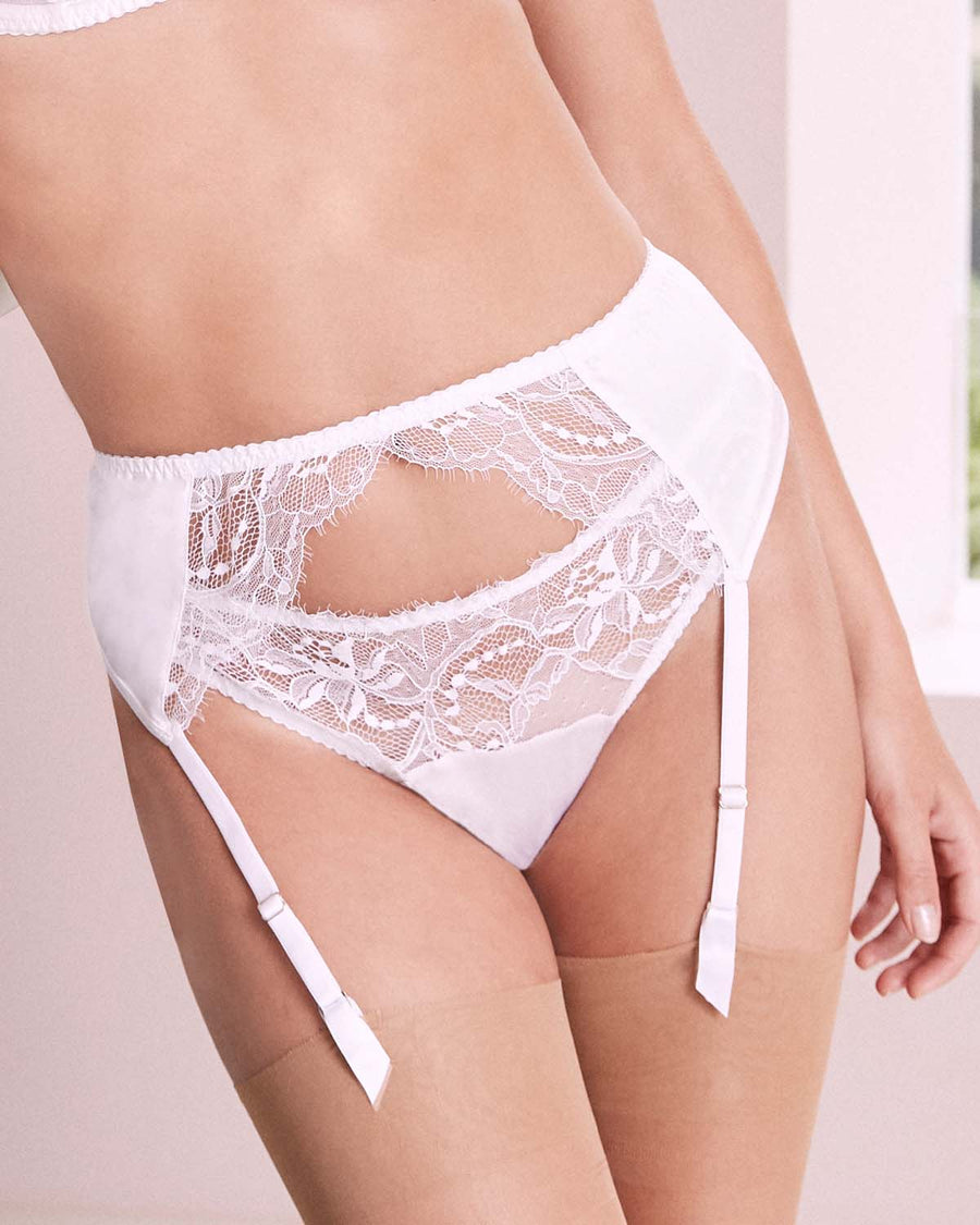 Signature Lace Suspender