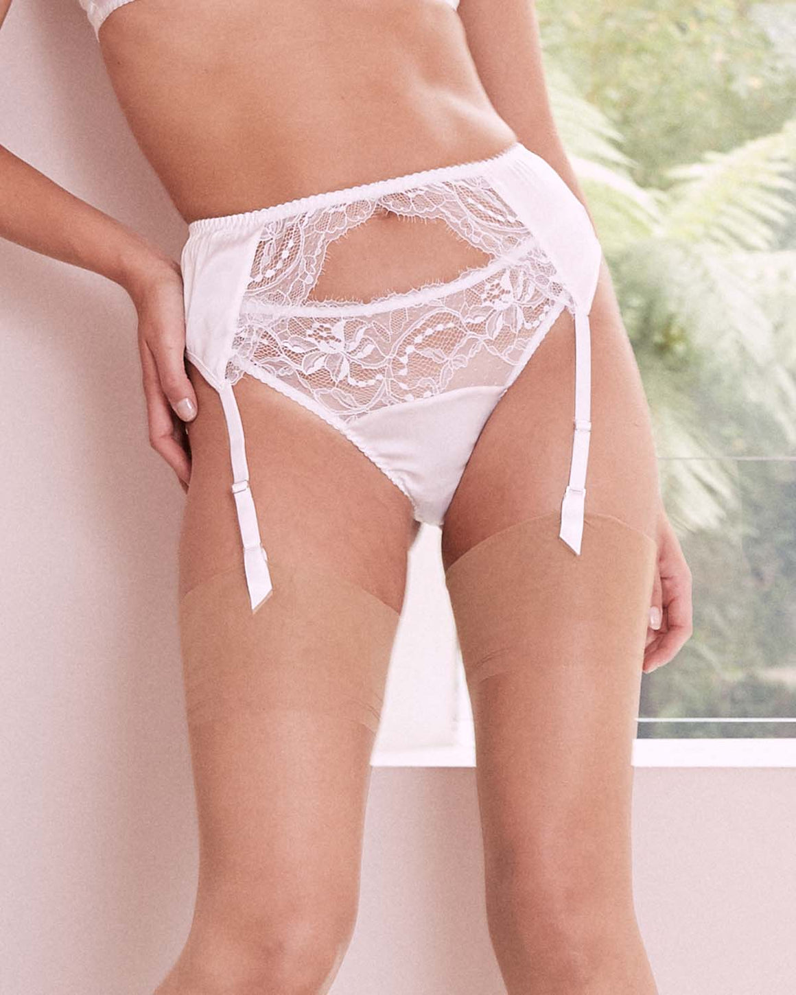 Signature Lace Thong