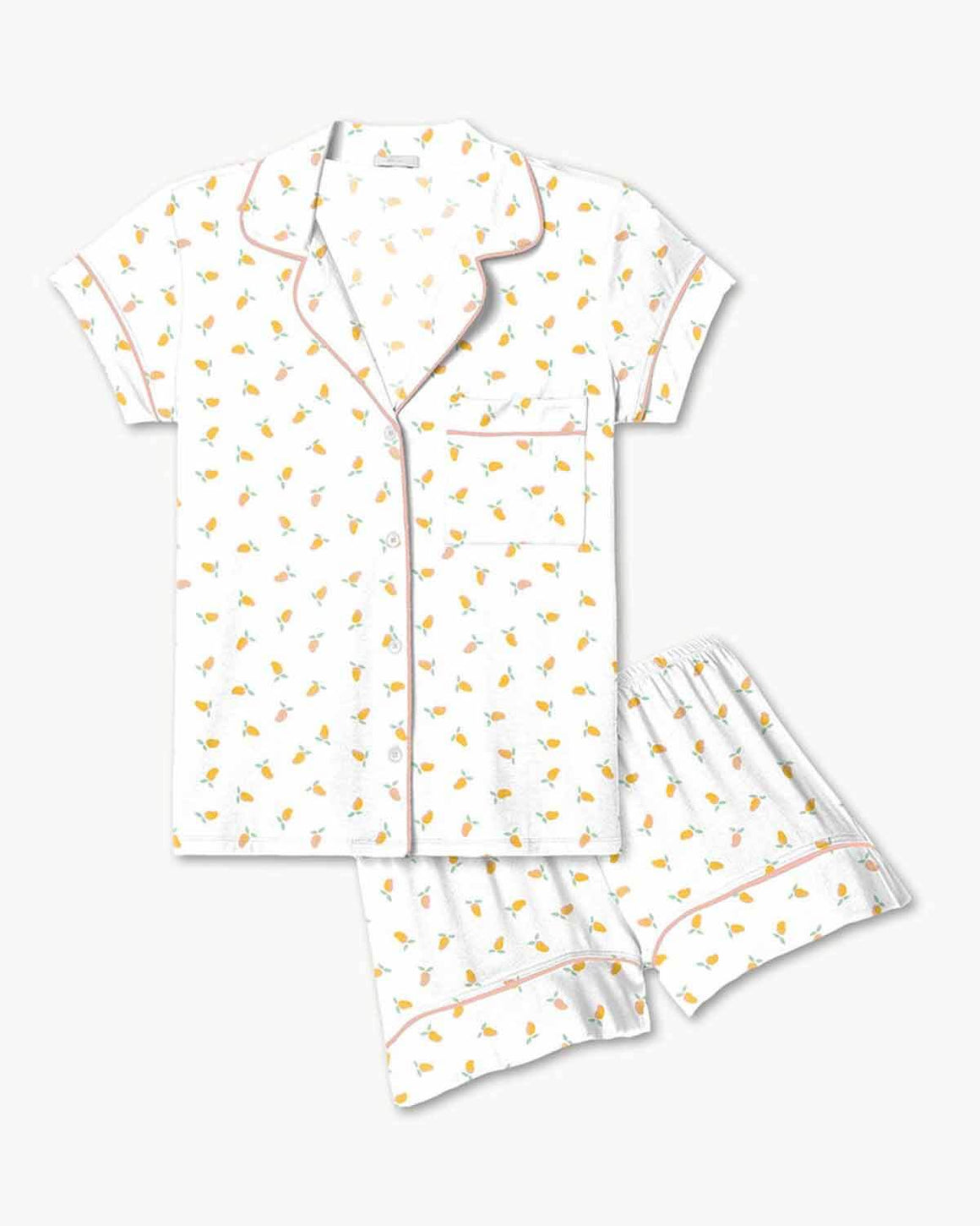 Gisele Printed Short PJ Set