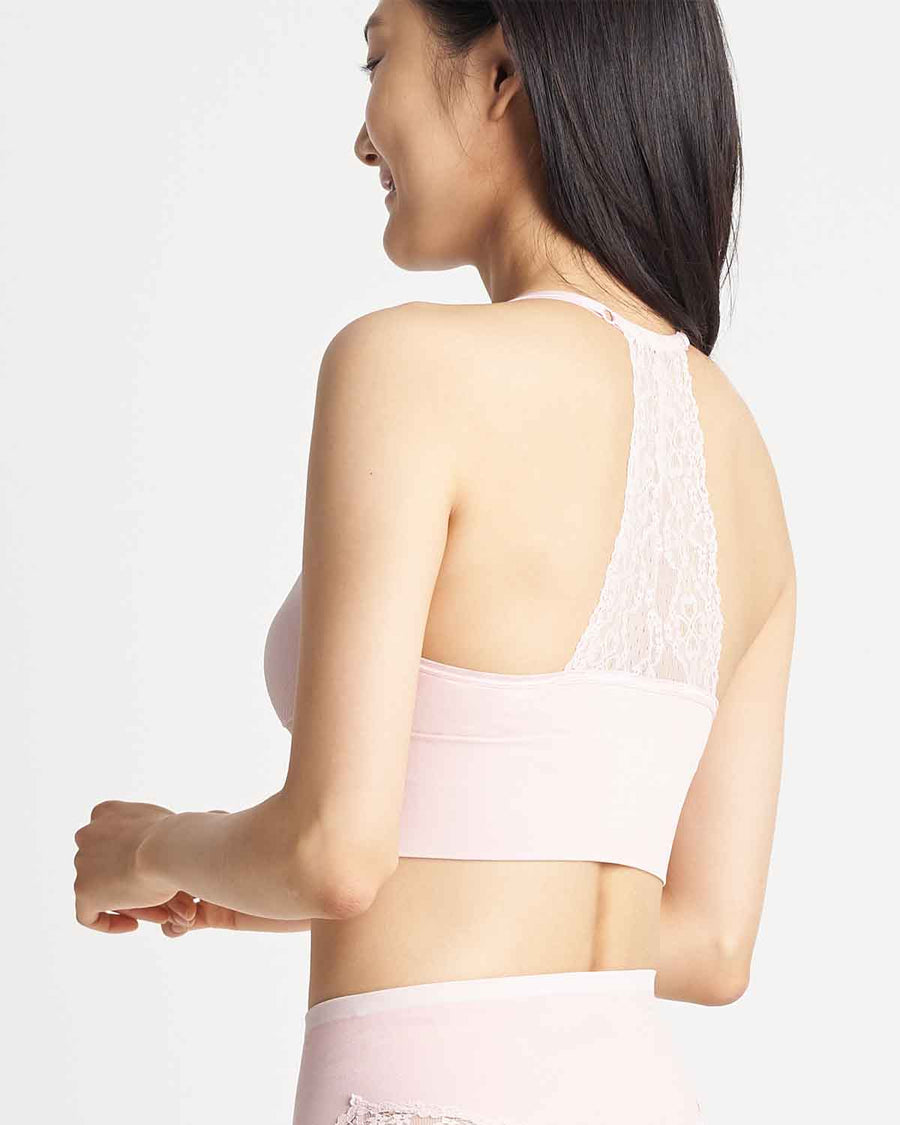 Seamless Lace Back Bralette
