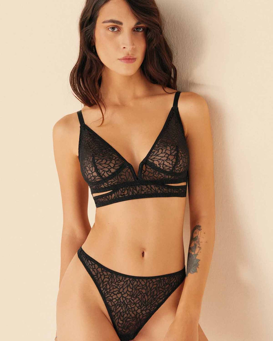 Zoe Soft Cup Cut Out Bra
