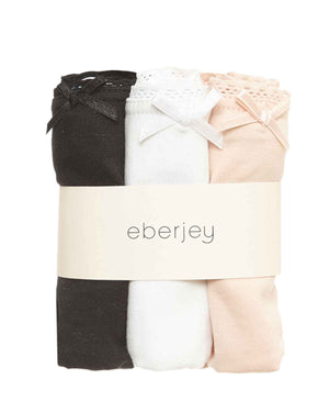 3 Pack Pima Goddess Everyday Brief