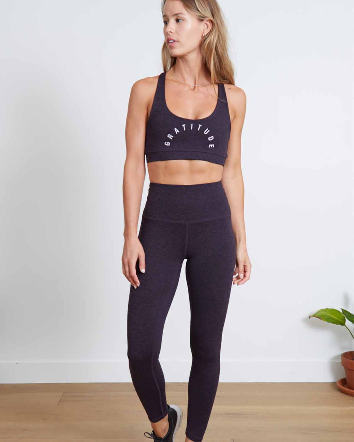 Jaelynn High-Waist Athletic Leggings