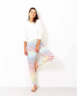 Rainbow Stripe Lounge Pant