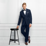 Navy Sterling Suit by Michael Kors
