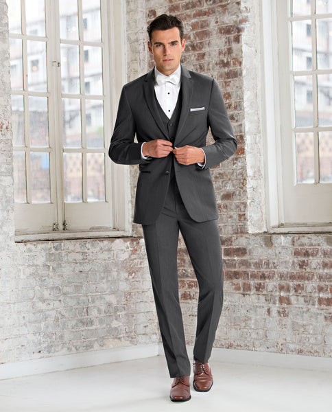 Steel Grey Sterling Suit by Michael Kors