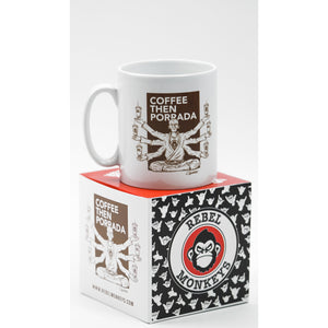 "Rebel Monkeys ""COFFEE GURU"" by Gartista - Mug - Rebel Monkeys"