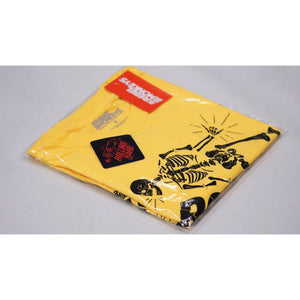"Rebel Monkeys ""ROLLING HARD"" T-Shirt Yellow - REBEL MONKEYS"