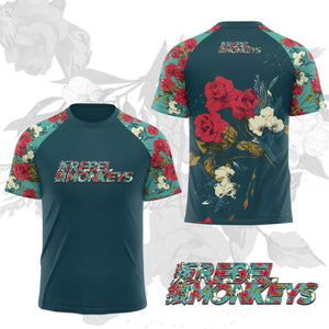 "Rebel Monkeys ""FLOWERS"" - Kids Performance T-Shirt PRE-ORDER - Rebel Monkeys"