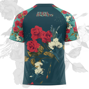 "Rebel Monkeys ""FLOWERS"" -  Adult Rashguard  PRE-ORDER - REBEL MONKEYS"