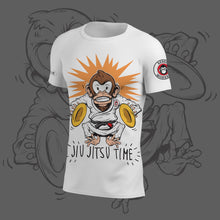 "Rebel Monkeys ""JIU-JITSU TIME"" by Gartista -  Adult Rashguard - Rebel Monkeys"