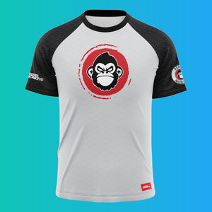"Rebel Monkeys ""KANJI"" -  Adult Rashguard - Rebel Monkeys"