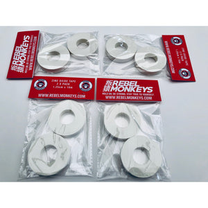 "Rebel Monkeys  ""FINGER TAPE"" White IBJJF Legal - Rebel Monkeys"