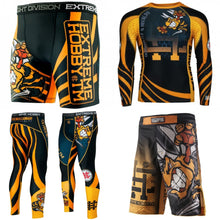 "Extreme Hobby TM ""Angry Wasp"" Vale Tudo Shorts - Rebel Monkeys"